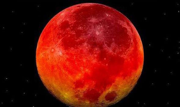 Blood Moon Nasa 2014