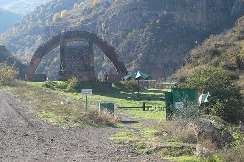 γέφυρα του σατανά(Αρμενία)