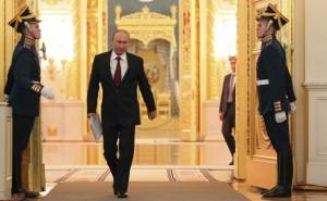 Putin walking