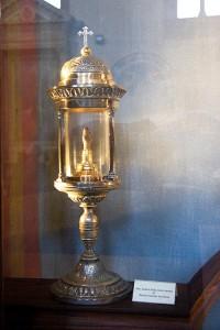 Το δέρμα από την περιτομή του Ιησού (Sanctum praeputium)