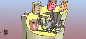 από τις 11 Φεβρουαρίου, η ΕΚΤ σταματάει να παίρνει τα ομόλογα των ελληνικών τραπεζών και οποιοδήποτε ομόλογο έχει εκδωθεί από το ελληνικό Δημόσιο ή έχει την εγγύηση του ελληνικού Δημοσίου.