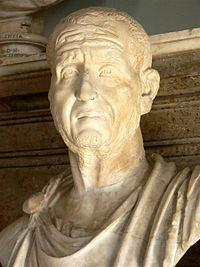 Προτομή του Αυτοκράτορα Δέκιου.