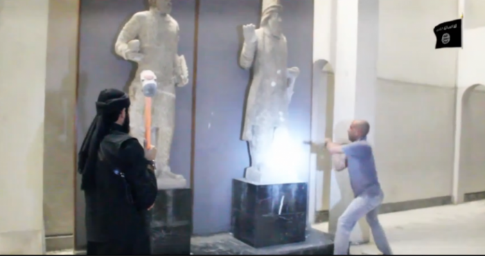 isis-destroys-mosul-artifacts
