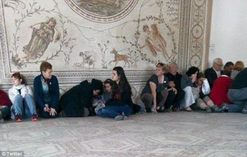 Μουσείο Μπαρντό, όμηροι