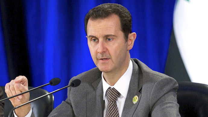 Syria's President Bashar Assad (Reuters / SANA)