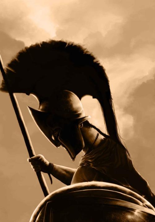 Ο Λεωνίδας ήταν έτοιμος να υποδεχτεί το θάνατο για χάρη της Ελλάδας.