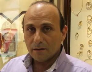 Ο Πρόεδρος του Εμπορικού Συλλόγου Αρχαίας Ολυμπίας Νίκος Ζαρόκωστας