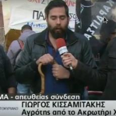Αγρότης Γιώργος Κισσαμιτάκης προς βολευτή του ΣΥΡΙΖΑ: Διάλογο θέλουμε, αλλά μήπως να μιλήσουμε απευθείας με την ΤΡΟΪΚΑ , αφού όλα τα κόμματα είναι κατασχεμένα;