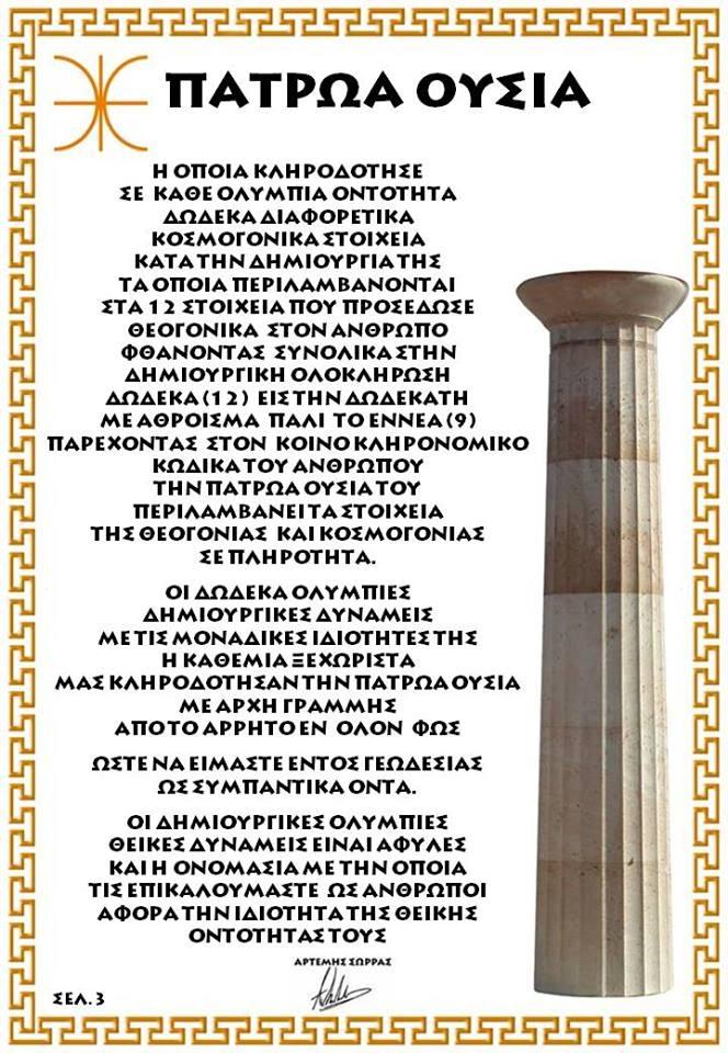 ΠΑΤΡΩΑ ΟΥΣΙΑ 3