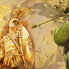 Έλληνα, ελησμόνησες ποιός είσαι; Τόσον εύκολα σου διέφυγεν ότι ο πλανήτης φέρει σε όλα του τα μήκη και τα πλάτη τα δικά σου αποτυπώματα, μαρτυρεί την δική σου πορεία;