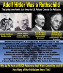 TIMELINE OF ROTHSCHILDS CRIME MOB SUPPORT BEHIND HITLER & NAZISM – IT WAS A SET ROTHSCHILDS MOB BUSINESS DEALS & EXPERIMENTS!