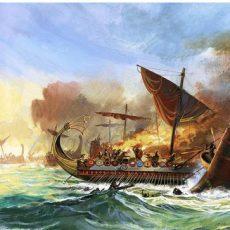 ΕΡΑΝΙΣΜΑΤΑ ΑΠΟ ΤΗΝ ΝΑΥΜΑΧΙΑ ΤΗΣ ΣΑΛΑΜΙΝΟΣ ( Γράφει ο Βασίλης Δρόσος - ΜΕΓΙΣΤΙΑΣ )
