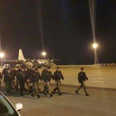 Έφτασε στον Έβρο η Δύναμη των Σωμάτων Ασφαλείας της Κύπρου