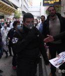 Έφεραν την αστυνομία να αντιμετωπίσει τους μαχητές των Νοσοκομείων (video)
