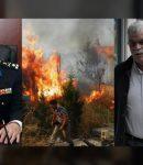 τ.ΥΠΑΡΧΗΓΟΣ Π.Σ. Βασιλειάδης: Με στήσανε χωρίς εναέρια μέσα σε δύο πυρκαγιές - Ο Τόσκας τα ήξερε όλα !!!
