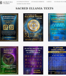 Two Sacred Ellania Texts out of many Texts written and created by Artemis Sorras, belonging to our Ellania Ethereal Script, have been recently translated into the English language. You may read them!