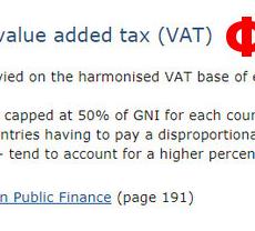 Η ΕΛΛΑΔΑ ΠΛΗΡΩΝΕΙ ΤΟ ΠΙΟ ΑΚΡΙΒΟ ΦΠΑ 24% (VAT) ΣΤΗΝ Ε.Ε. ΒΑΣΕΙ ΤΟΥ 50% ΤΟΥ ΑΕΠ ΤΗΣ ;; ΟΤΑΝ Η ΓΕΡΜΑΝΙΑ ΠΛΗΡΩΝΕΙ ΜΟΛΙΣ 19% ;; ΠΟΙΟ ΕΙΝΑΙ ΤΟ ΠΡΑΓΜΑΤΙΚΟ ΑΕΠ ΤΗΣ ΕΛΛΑΔΑΣ ΤΕΛΙΚΑ ;